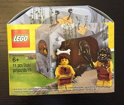 LEGO 5004936 Caveman and Woman Set - New!