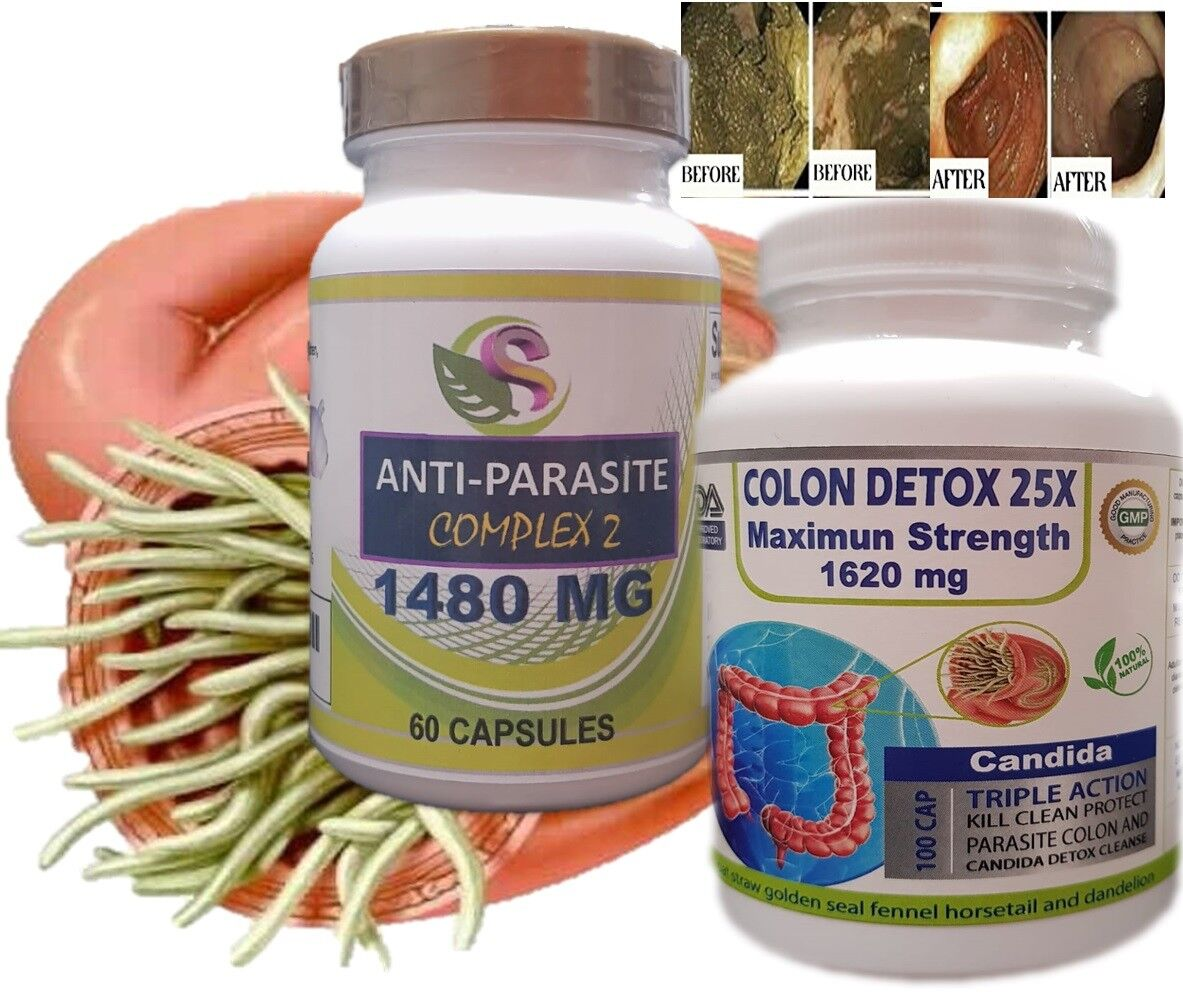 Fast COLON DETOX Clean & Flush Colon Parasite and lower intestines kill egg fast 2
