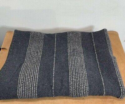 Terence Conran Angora Lambswool Throw Blanket Made in (Lambswool Throw Blanket)