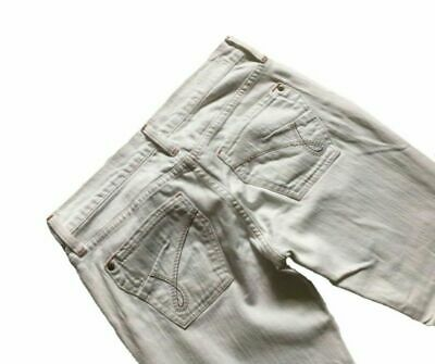 James jeans US dry aged Denim women's White jeans size 28 pic229