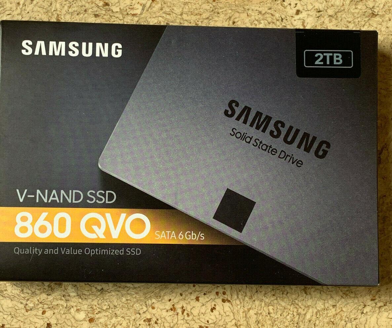 Samsung 860 QVO Interne SSD 2 TB SATA 6 Gb/s V-NAND SSD