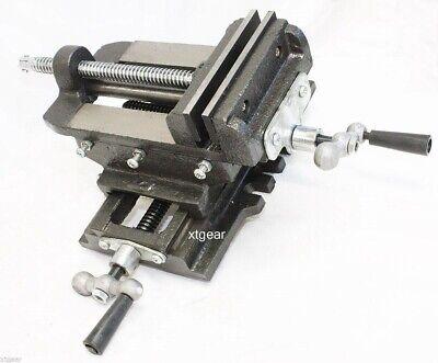 5 Cross Drill Press Vise Slide Metal Milling 2 Way X-y Clamp Machine Heavy Duty