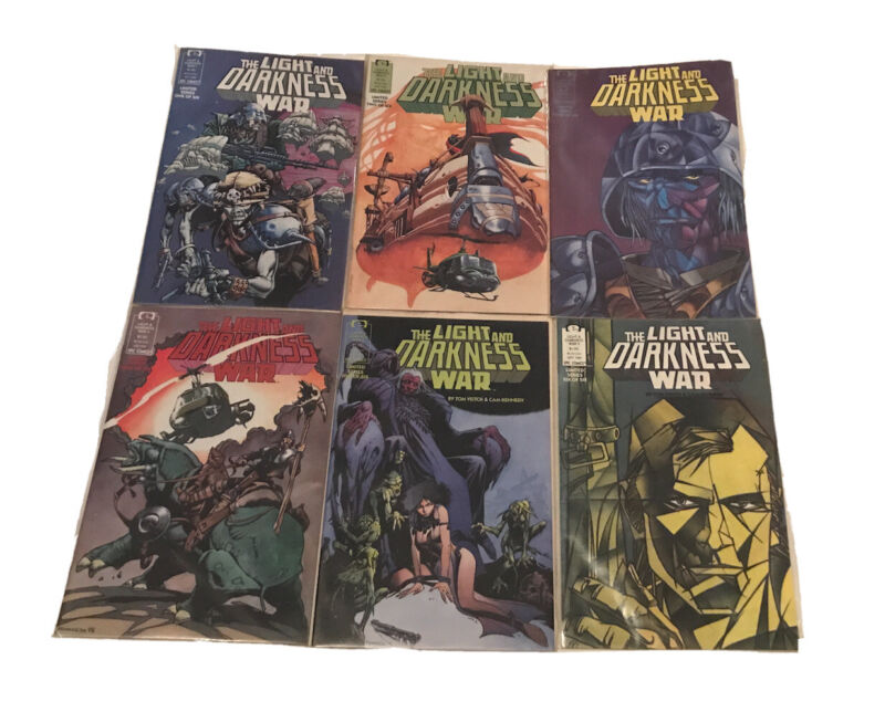 The Light and Darkness War #1 - 6 Complete Set Epic Comics