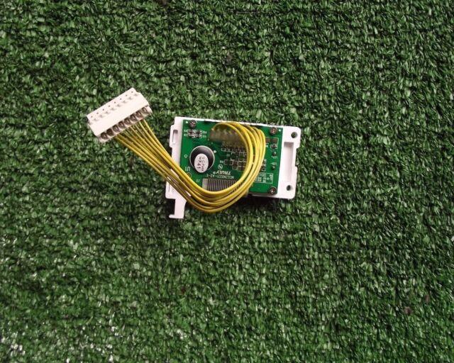 Washing Machine ZANUSSI ZWG6165  LCD DISPLAY PCB