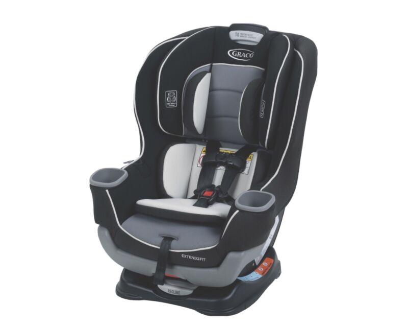 Graco Extend2Fit Convertible Car Seat, Gotham Fashion