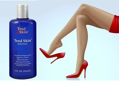 Tend Skin 8oz Solution Liquid  INGROWN HAIR RAZOR BUMPS&BURNS-Exp 03/2021 New Tend Skin Liquid
