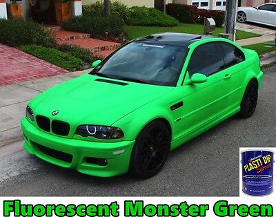 Plasti Dip 2 Gallon Monster Green 1 Gal White Ready To Spray Coating Sprayable