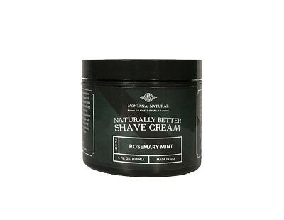 Rosemary Mint Shave Cream for a Naturally Better Shave