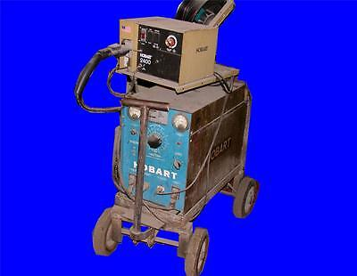 Very Nice Hobart 200 Amp Welder Model Rc-256 With 2400 Wire Feed 230460 Volts