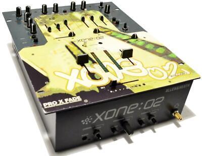 ALLEN AND HEATH XONE:02 2-CHANNEL PROxFADE ADVANCED CROSSFADER DJ LINE MIXER