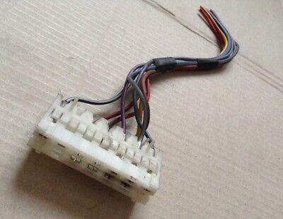 GENUINE VW AUDI WIRING LOOM REPAIR CONNECTOR PLUG SOCKET WHITE 927294