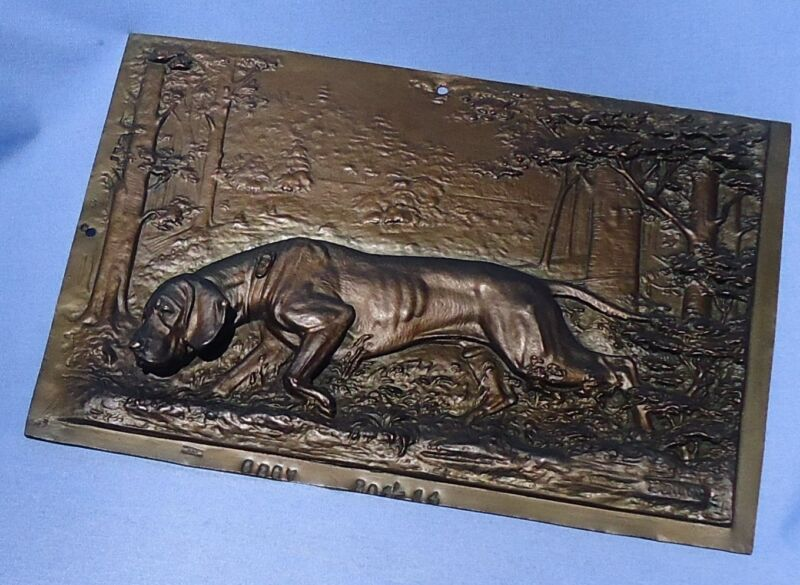 WMF GERMAN SHORTHAIRED POINTER BRONZE DILLER  DOG 8""
