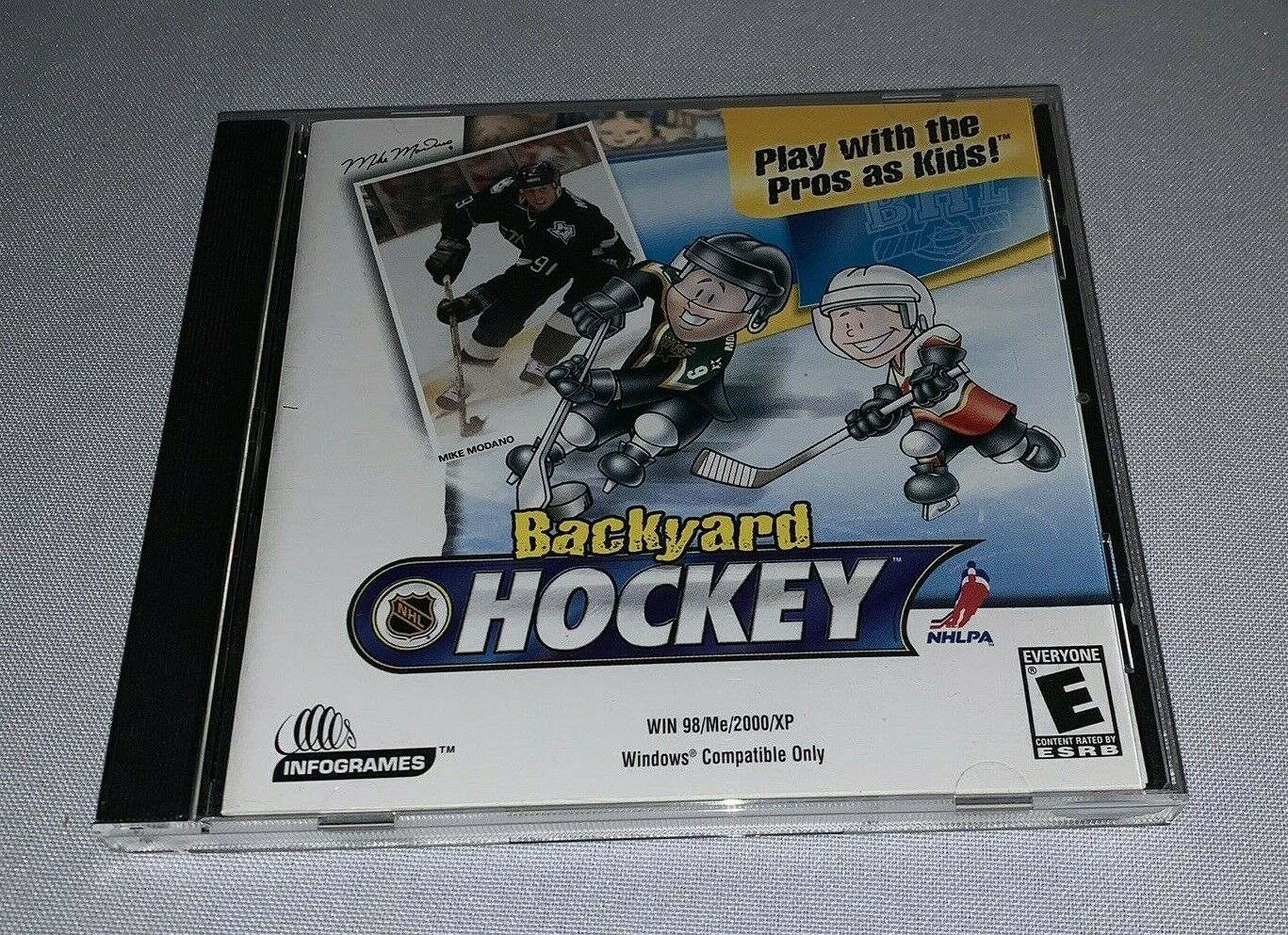 Computer Games - Backyard Hockey (PC, 2002) Windows CD-Rom Computer Game