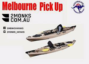 Single Sit-On Pro Fishing Kayak 3.6M Rod Holders, Seat, Paddle Wantirna South Knox Area Preview