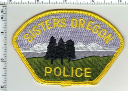Sisters Police (Oregon) 4th Issue Shoulder Patch