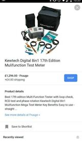 Kewtech kt65dl