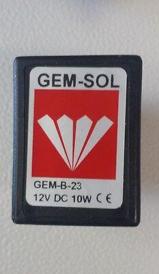 Tuttnauer Sterilizer Solenoid 01810902 12vdc 10w 1991 On Autoclave Parts
