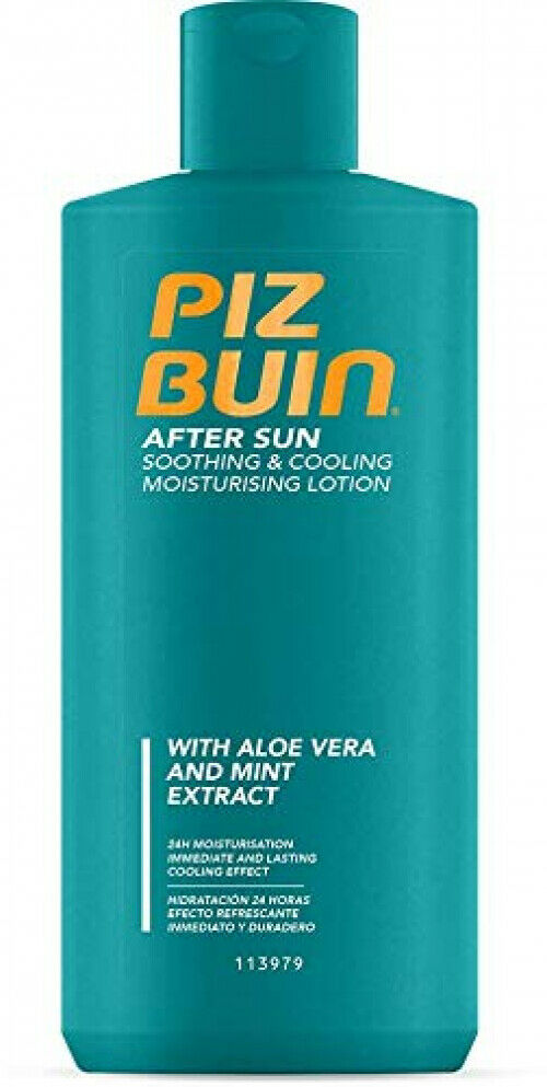 Piz Buin After Sun Soothing & Cooling Moisturising Lotion 24h Feuchtigkeit 200ml