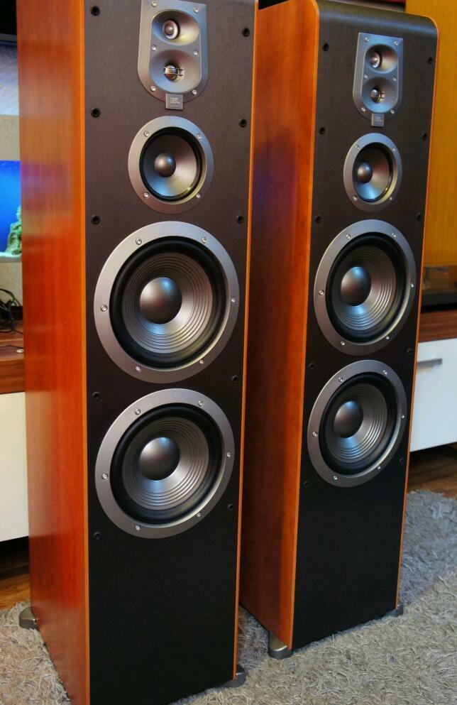 Jbl Es90 Floorstanding Speakers In Leicester