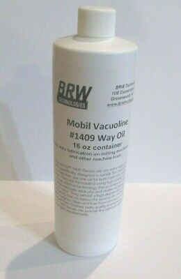 Mobil Vacuoline Vacoline1409 Way Lube Oil For South Bend Lathes Bridgeport Mill