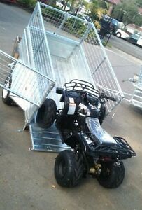 New Hot dipped tilt trailer plus full height cage fitted Darwin CBD Darwin City Preview