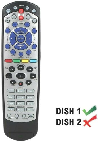 Learning Remote Fit for 20.1 IR TV1 Dish Network TV 211 222 311 612 351