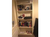 Ikea white bookcase shelves shelf bookshelves bookshelf