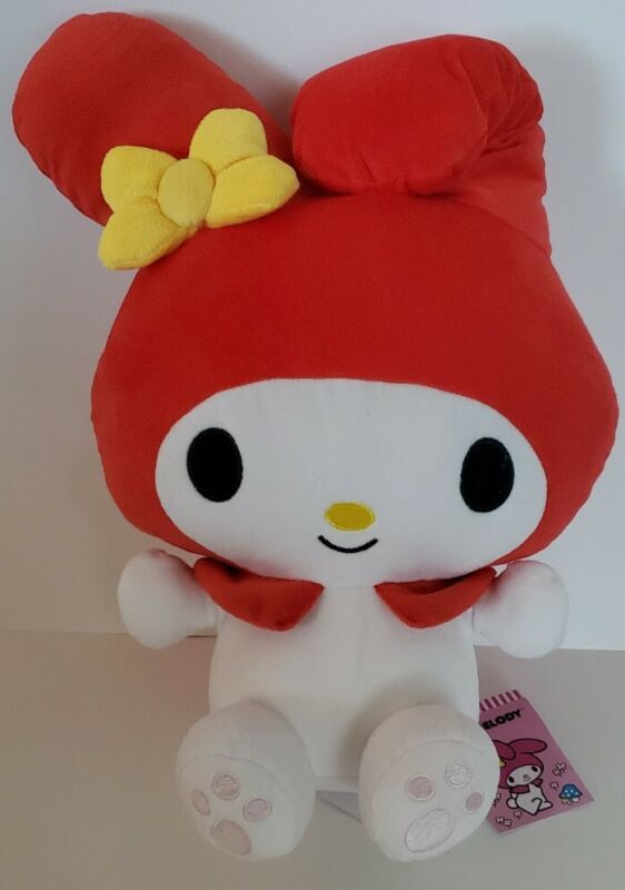"""New with tag - Cute 15"""" Sanrio My Melody Red Plush - Round 1"""
