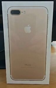 Brand new sealed iPhone 7plus 128GB GOLD COLOR