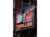 Thriller 2x tickets!!
