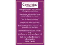Cambridge Weight loss with Grace