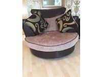 Large Corner Sofa & Snug Chair