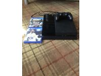 PS4 500GB Console + 3 Games!! Excellent Working Condition
