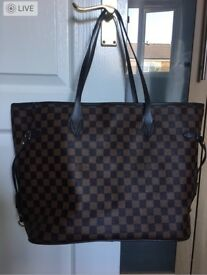 LV bag neverfull damier