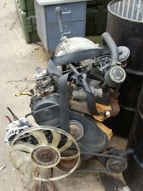 2.5 di engine from mk5 transit , banana, type only covered 100k ideal for boat or replacement