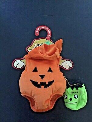 "Patrick the Pup Dress Up Pumpkin Halloween Outfit ""NEW"" 15"" Doll Fao Schwarz"