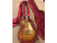 Gibson Les Paul Standard 1994 Honey Sunburst Inc Gibson Case