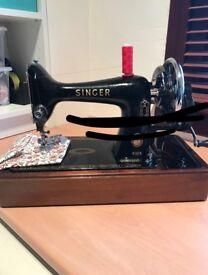 Vintage 99K Singer Hand Crank Sewing Machine