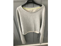 C crafted grey jumper fit size 12