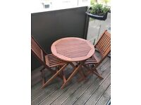 2 seater wooden patio furniture from Marks & Spencer