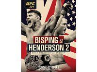 2x UFC 204 Tickets Manchester