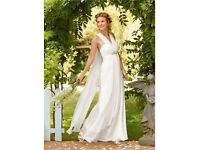 Grecian Greek goddess wedding dress size 6