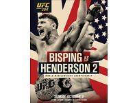 1x UFC 204 - Manchester Ticket with 2x Weigh In Tickets For Free