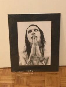Sketched Marilyn Manson Posters