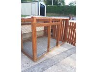 Dog pen and kennel for sale