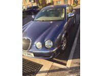 Blue Jaguar S TYPE 2.5 PETROL