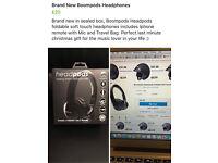 Brand new in sealed box ,boompods headphone