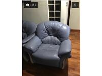 Good condition leather sofas and cheap prices
