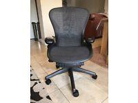Herman Miller Aeron Chair Computer Chair Size B