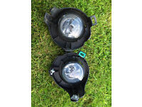 Nissan Navara Fog lights